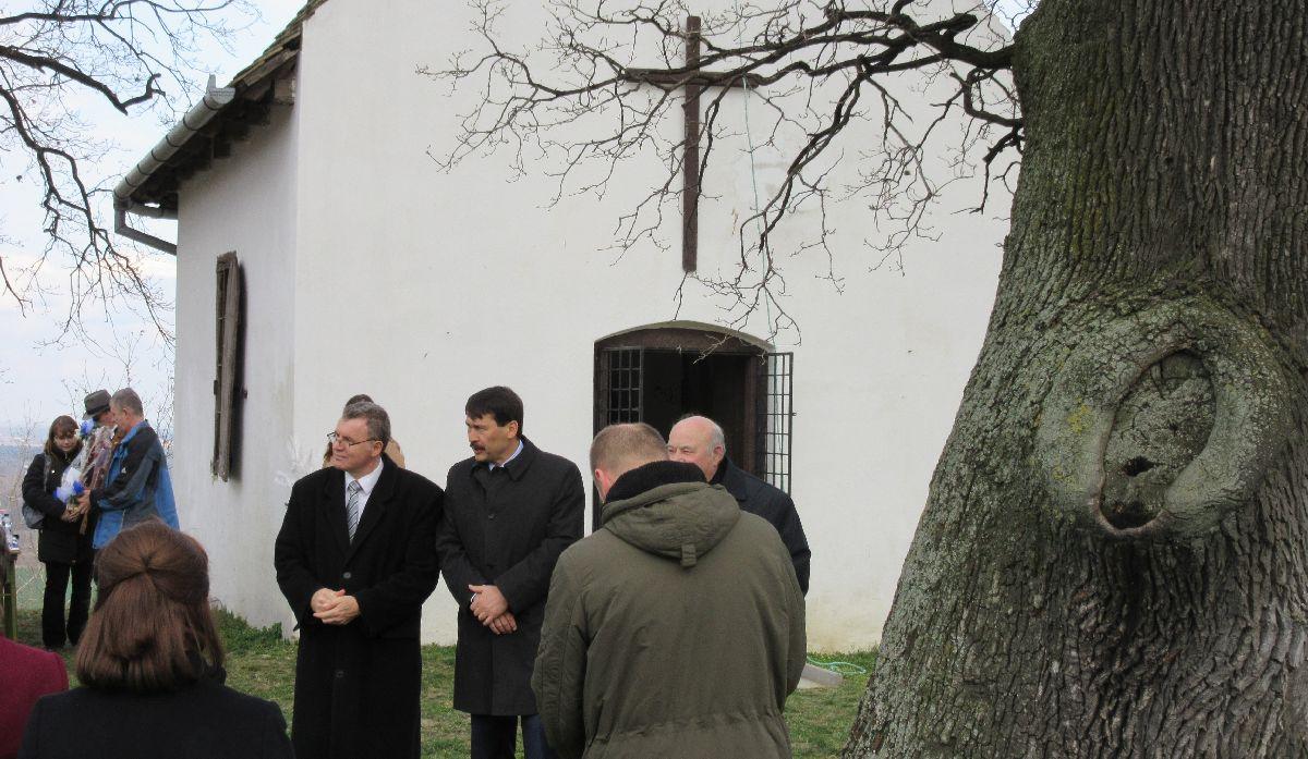 Áder János köztársasági elnök Bátaszéken.