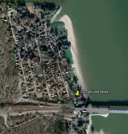 Eladó telek Baja-Dunafürdőn